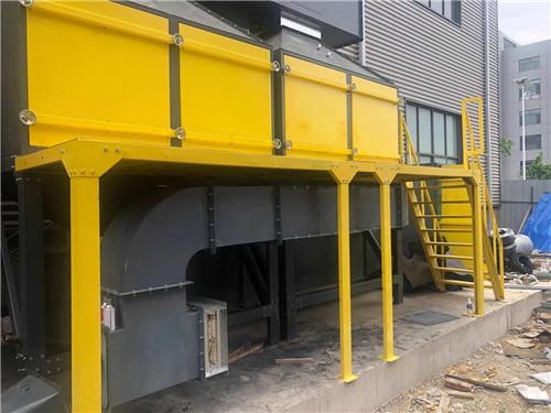 喷漆房VOCs治理设备安装