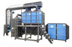 催化燃烧设备厂家对产品机构及作用的解析