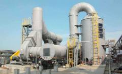 工业生产中的废气处理中的吸收法是用了